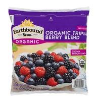 Earthbound Farm 冷凍有機三種綜合莓 1.36公斤X2包(冷凍宅配)-吉兒好市多COSTCO線上代購