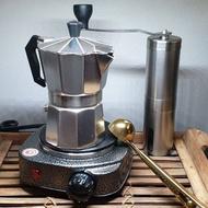 โปรโมชั่น ชุดทำกาแฟสด Moka pot ขนาด 3 cup กาชงกาแฟสด ไม่แพง ชุดพร้อมชง ราคาถูก เครื่องชงกาแฟ เครื่องชงกาแฟสด เครื่องชงกาแฟอัตโนมัติ เครื่องชงกาแฟพกพา