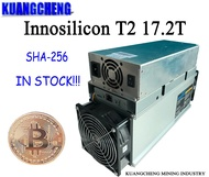 ใช้เก่า Miner SHA256 Miner Innosilicon T2 (เครื่อง) 17.2T ASIC Miner BTC 10nm จัดส่งฟรี Power Supply