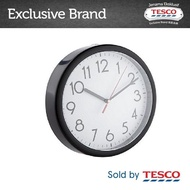 Tesco Wall Clock - Black (9-)