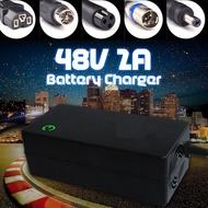 電動自行車48V 2A鋰離子鋰電池充電器電動摩托車滑板車