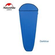 NatureHike 80x200 ซม. ถุงนอนยืดหยุ่นสูง Liner Outdoor Camping Travel Sleep Gall Ultralight ฉีกขาด Sleep Liner NH17N002-D