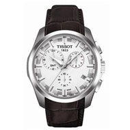 Tissot Mens Brown Leather Strap Watch T035.439.16.031.00