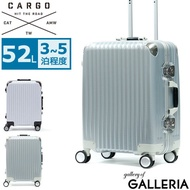 CARGO旅行箱攜帶箱TRIO車架旅行商務旅行TSA鎖52L 3至4晚硬箱TW - 64 LG GALLERIA Bag-Luggage