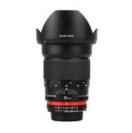 Samyang 鏡頭專賣店:Samyang 35mm F1.4 UMC lens Canon義文公司貨 (保固二個月)