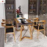 美式實木會議辦公桌椅休閑靠背洽談電腦座椅總統椅全實木餐桌椅子【perdontoo】