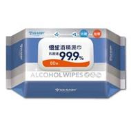 【優生】酒精濕巾80抽(超厚型)