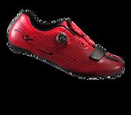 【7號公園自行車】SHIMANO RC7 競賽級男性公路車鞋(紅)