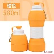 摺疊杯 矽膠摺疊水杯便攜可伸縮杯子旅行可裝沸水大容量運動水壺 7色