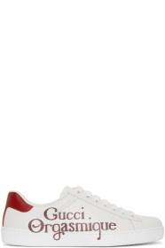 "白色 New Ace ""Gucci Orgasmique""运动鞋"