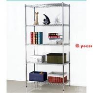 【雜貨】廚房置物架收納架五層金屬架子儲物架雜物架落地【寬30長45高150五層】賴ID:hh664010