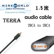 Wireworld 美國 Audio Cable 3.5mm 2 RCA TO 2 RCA - Terra (1.5米) 公司貨
