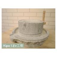 KIPO-天然手工石磨/老石磨/家用石磨/古早味豆漿/磨漿/熱銷青石石磨-NKR149177A