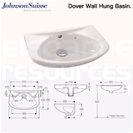 Johnson Suisse Dover Wall Hung Hand Wash Basin