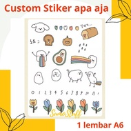 Sumostuff Custom Sticker A6