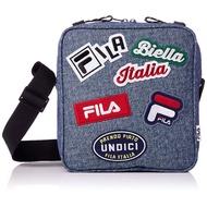 FILA 日本限定 FM2143 FILA LOGO PATCH SHORLDER BAG 帆布 方包 / 側背包 丹寧