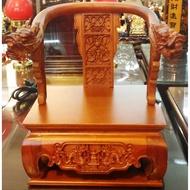 8寸8貼尺3 精雕 雙龍拜塔 疊椅 屈椅 文椅 貼椅