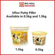 0.5kg/1.5kg Ufixx Putty Filler
