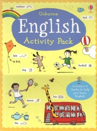 USBORNE ENGLISH ACTIVITY PACK( 4 BOOKS)