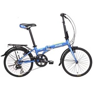 ❅▲Siddle xds ultra-light aluminum w7 variable speed 20 inch portable folding bike Shimano students.
