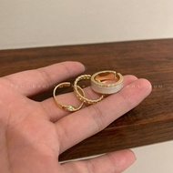 {Ready Stock}cincin silver 925 original rings anniversary gift adjustable ring cincin silver perempuan cincin couple cou