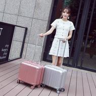 鋁框拉桿箱16寸登機箱商務旅行箱18寸萬向輪小型行李箱潮女男高端