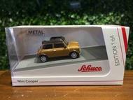 1/64 Schuco Mini Cooper Brown 452021900【MGM】