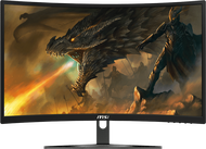Monitor จอคอมพิวเตอร์ 23.6'' MSI Optix G241VC (VA, VGA, HDMI) 75Hz CURVE FreeSync ส่งฟรี