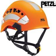 Petzl 透氣型高能見度工程安全頭盔/安全帽 A010EA Vertex VENT HI-VIZ 橘