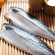 【買8送8-鮮綠生活】霸王級挪威巨大薄鹽鯖魚 16包(無紙板淨重 185g±10%)