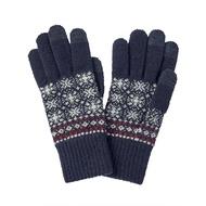 無印良品 MUJI 羊毛混紡里起毛 觸摸屏手套