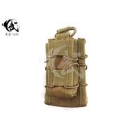 (槍林彈雨)現貨 手槍+步槍快拔彈匣袋 MOLLE系統 M4彈匣袋 沙色