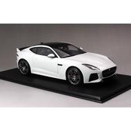 TSM 1:18 捷豹 Jaguar F-Type R Coupe 白色 仿真汽車模型