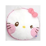 大賀屋 HELLO KITTY 頭型抱枕 抱枕 枕頭 小枕頭  凱蒂貓 三麗鷗 日貨 正版 授權 T00110065