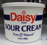 美兒小舖COSTCO好市多代購~Daisy 酸鮮奶油/酸奶油(1.36kg/罐)無反式脂肪