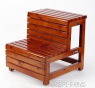 家用梯子實木三步梯凳兩用梯凳子臺階腳踏凳登高梯二步梯踏步