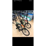 CAMP PIKES GEN2 M-BAR OR STARIGHT-BAR FOLDING BIKE NEW!!