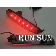●○RUN SUN 車燈,車材○● 全新 日產 SUPER SENTRA LIVINA LED雙功能 後保燈 後保桿燈