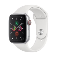 Apple Watch Series 5 GPSCellular 44mm, Silver Aluminum Case, White Sport Band