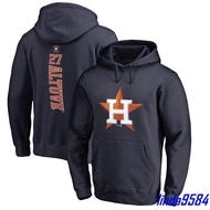 熱銷*MLB美國職業棒球聯盟Astros休斯頓太空人隊27號長袖衛衣帽衫