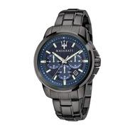 【Maserati 瑪莎拉蒂】三眼精品鋼帶腕錶(手錶 男錶)-R8873621005-台灣總代理公司貨-原廠保固兩年