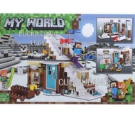 ☇ Lego Minecraft My World Ice House Village 3 in 1 Terbaru ❂