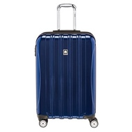 DELSEY Paris Delsey Luggage Helium Aero, Medium Checked Luggage, Hard Case Spinner Suitcase, Blue