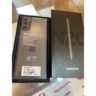 (黑)二手Note20 5G 256G 9/7剛續約出來開機