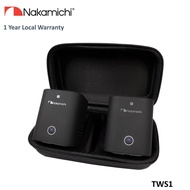 Nakamichi TWS1 Twin True Wireless Portable Stereo Speaker (Black)