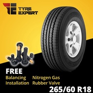 265/60R18 BRIDGESTONE Dueler H/T 684 (installation) tyre tayar
