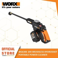[WORX GARDENING TOOL] WORX WG630E 20V 4.0Ah Cordless Hydroshot Portable High Pressure Cleaner / Washer with Power Share Technology (Gardening Power Tools - Carry Case and Double Battery Power Cleaner / Water Jet with 1 Year Warranty)