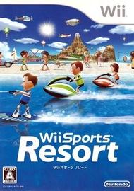 【二手遊戲】Wii 度假勝地 渡假勝地 Sports Resort 日文版 【台中恐龍電玩】