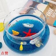 点赞!吧臺小魚缸辦公桌小魚缸迷你小魚小魚缸超小缸小魚缸可愛小