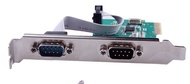 pci-e serial port card pci-e to serial port card r232 interface 9-pin com port card industrial control expansion card